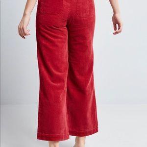 rolla's Pants & Jumpsuits - Rolla's Red Corduroy Wide Leg Sailor Pants